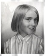 Marie as a young girl